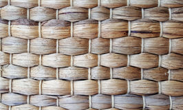 Handcraft weave texture natural wicker Royalty Free Stock Images