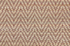 Handcraft weave texture thai sedge mat background Royalty Free Stock Images