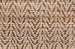 Handcraft weave texture thai sedge mat background Stock Images