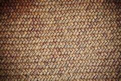 Handcraft weave wicker for texture Royalty Free Stock Photos