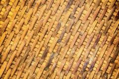 Handcraft wicker текстуры weave естественный Стоковые Изображения RF