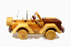 Handcraft wooden toy Stock Photography