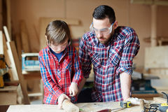 Handcraft in workshop Stock Photography