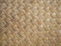 Handcraft wyplata tekstury naturalny łozinowego Obraz Royalty Free
