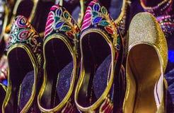 Handcrafted ботинок женщин Стоковая Фотография RF