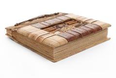 Handcrafted Abbildungalbum Stockbilder