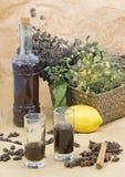Handcrafted alkohol Fotografia Stock
