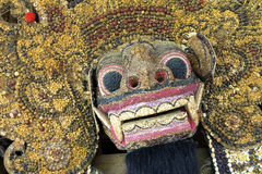 Handcrafted balijczyk Barong Obrazy Royalty Free