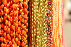 Handcrafted beads. Stock Photo