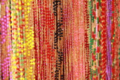 Handcrafted beads. Royalty Free Stock Image