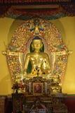 Handcrafted Buddha statua obraz stock