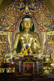 Handcrafted Buddha Statue at Norbulingka Instiutute Royalty Free Stock Photography