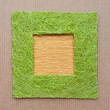 Handcrafted frame border Stock Photos