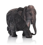 Handcrafted indian elephant Royalty Free Stock Image