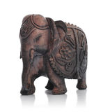 Handcrafted indian elephant Stock Photos