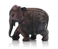 Handcrafted indian elephant Royalty Free Stock Photos
