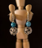 Handcrafted jewelry Stock Photos