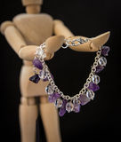 Handcrafted jewelry Royalty Free Stock Image