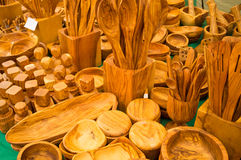 Handcrafted kitchen utensils Stock Image