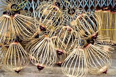 Handcrafted lanterns in ancient town Hoi An, Vietnam Stock Images