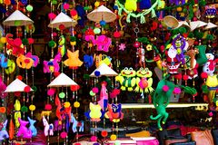 Handcrafted lanterns in ancient town Hoi An, Vietnam Stock Photography