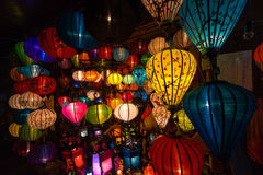 Handcrafted lanterns Stock Photos