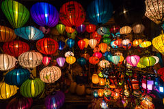 Handcrafted lanterns Stock Photo
