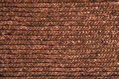handcrafted makrotextur för korg closeup Royaltyfri Foto
