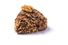 Handcrafted nut truffle Royalty Free Stock Photography
