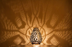 Handcrafted oriental lamp Stock Image