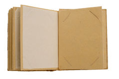 Handcrafted picture album Stock Photos