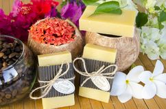 Free HANDCRAFTED SOAP COCONUT NATURALS Royalty Free Stock Photography - 135532517