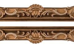 Handcrafted tappningbildram Royaltyfri Bild