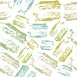 Handcrafted texture seamless pattern. Expressive handcrafted texture seamless pattern. Color texture on a  white background Stock Photos