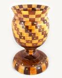 Handcrafted träantika Tophy Royaltyfri Bild