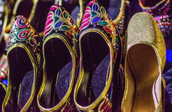 Handcrafted women shoe Royalty Free Stock Photography
