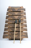 Handcrafted Xylophone Lizenzfreies Stockfoto