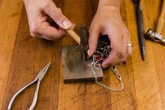 Handcraftedjuwelen stock afbeelding