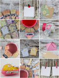 Handcrafts collage Stock Photo