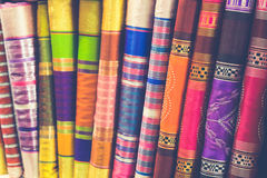 Handcrafts shot at the market in Morocco. Africa stock photo