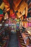 Handcrafts markets in Antananarivo, Madagascar. Handcrafts sold in the local handcrafts market in the capital of Madagascar stock image