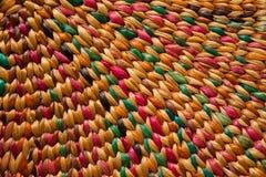 Handcraftweefsel, traditionele craf Royalty-vrije Stock Afbeeldingen
