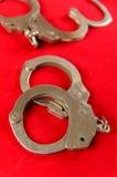 handcuff stockfotos