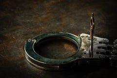 handcuff lizenzfreies stockfoto