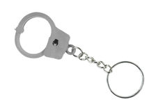 Handcuff keychain Royalty Free Stock Images