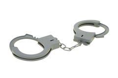 Handcuff van het stuk speelgoed stock afbeeldingen