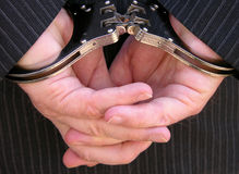 Handcuffed Royalty Free Stock Photo