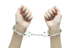 Handcuffed Stock Photo