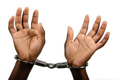 Handcuffed Royalty Free Stock Photography