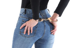 Handcuffed Stock Photo